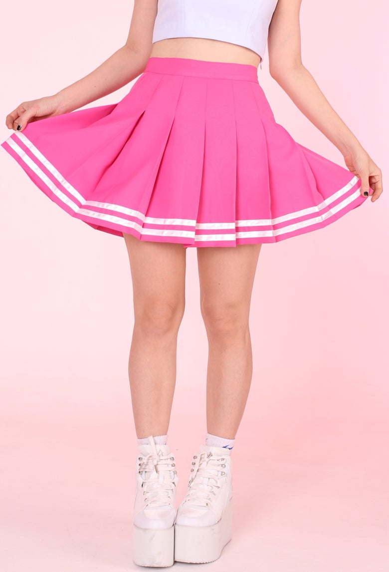 Image of GFD PInk Cheerleading Skirt