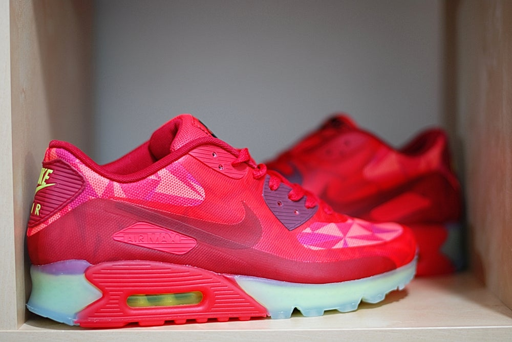 nike air max 90 ice red