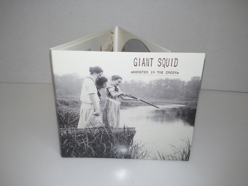 Image of Giant Squid - Monster in the Creek CD/DVD