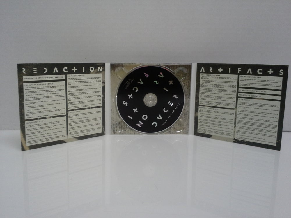 Image of East of the Wall - Redaction Artifact CD