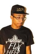 Image of Black Lavish Habits 5 Panel Hat