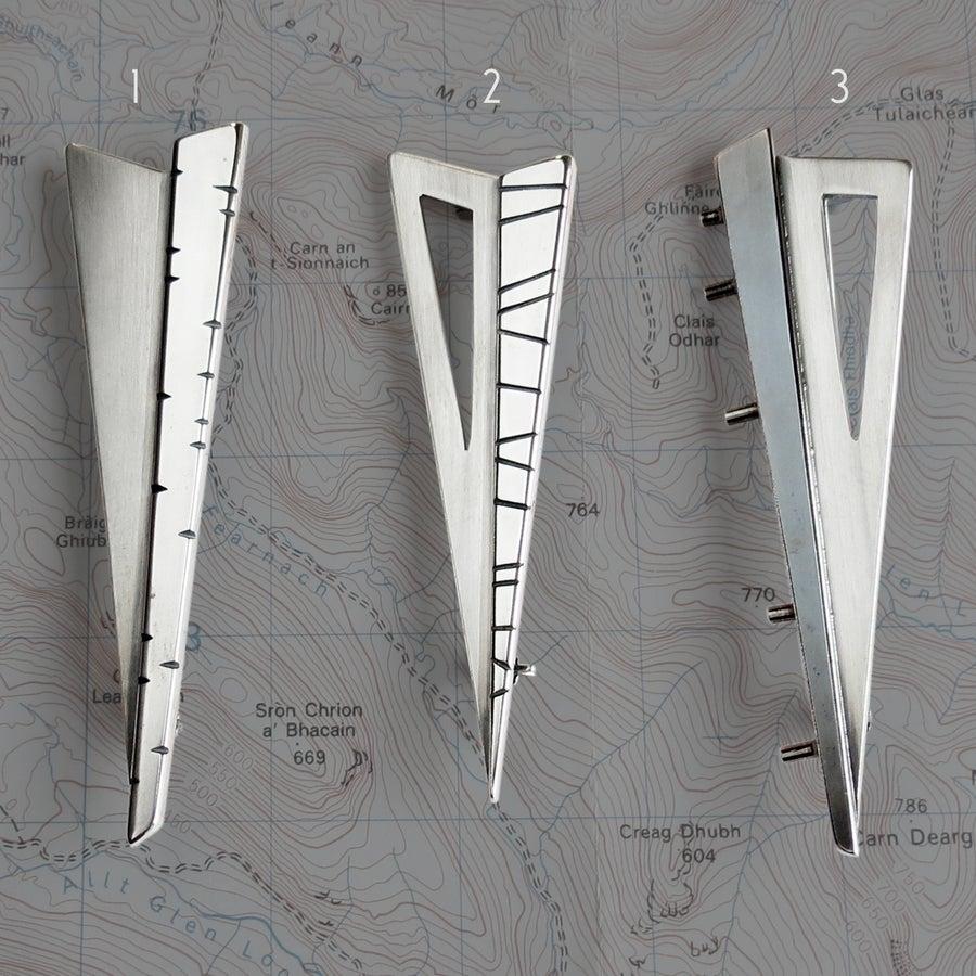 Image of Triangulate Kilt Pins