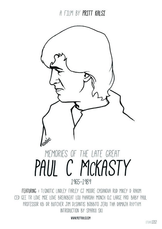 Image of Paul C Movie Poster Limited Edition