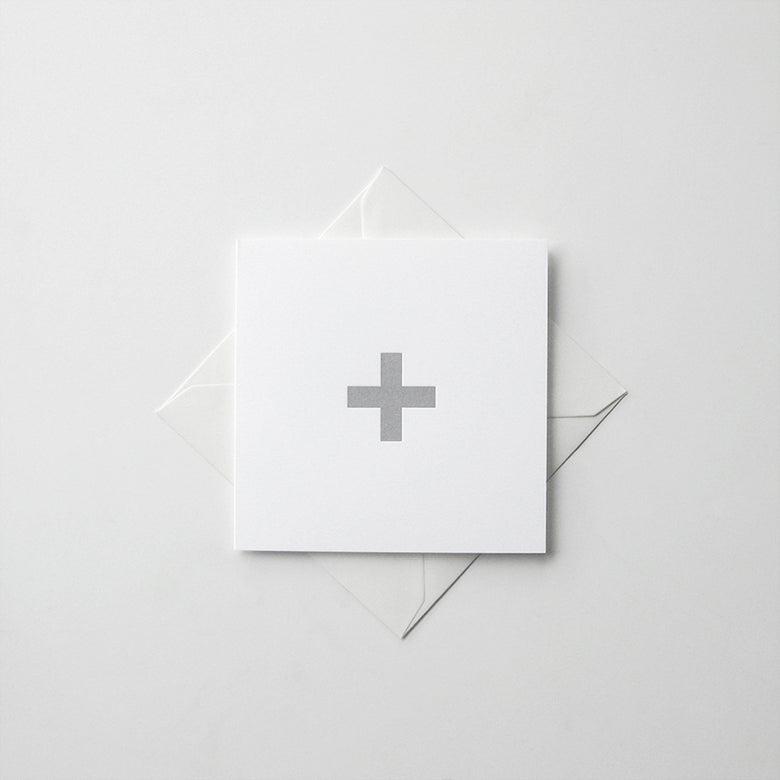 Image of + [plus symbol] card