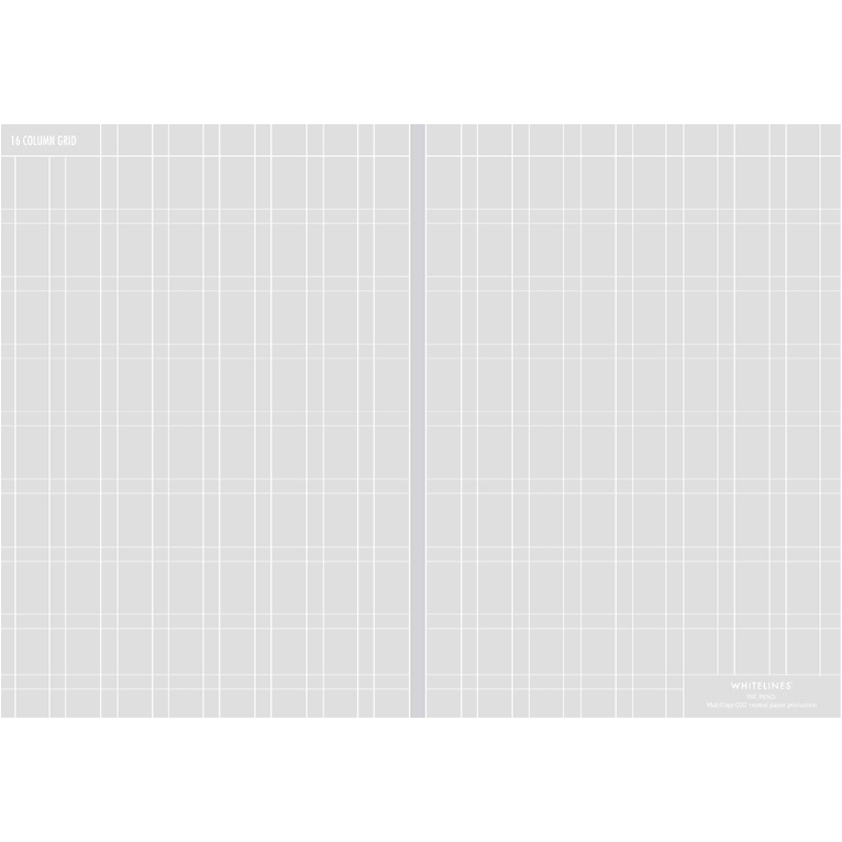 Image of Whitelines - Lab - 16 Column Grid Paper
