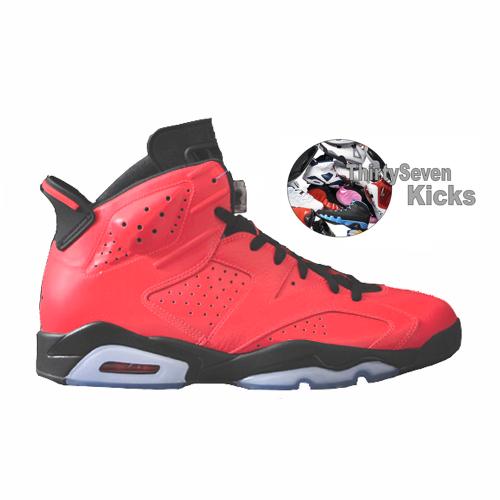"Image of Jordan Retro 6 ""Infrared 23"""