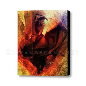 Image of Day 2 of Flamenco February. Original & prints.