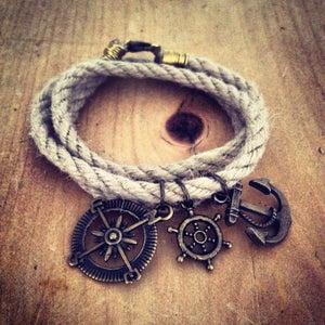 Image of Nautical Wraparound Bracelet
