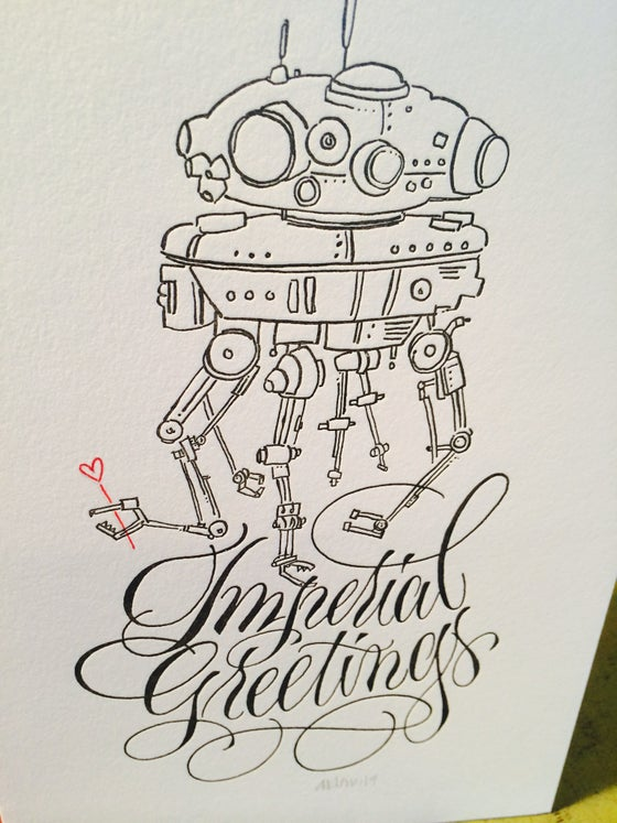Image of Imperial Love Droid