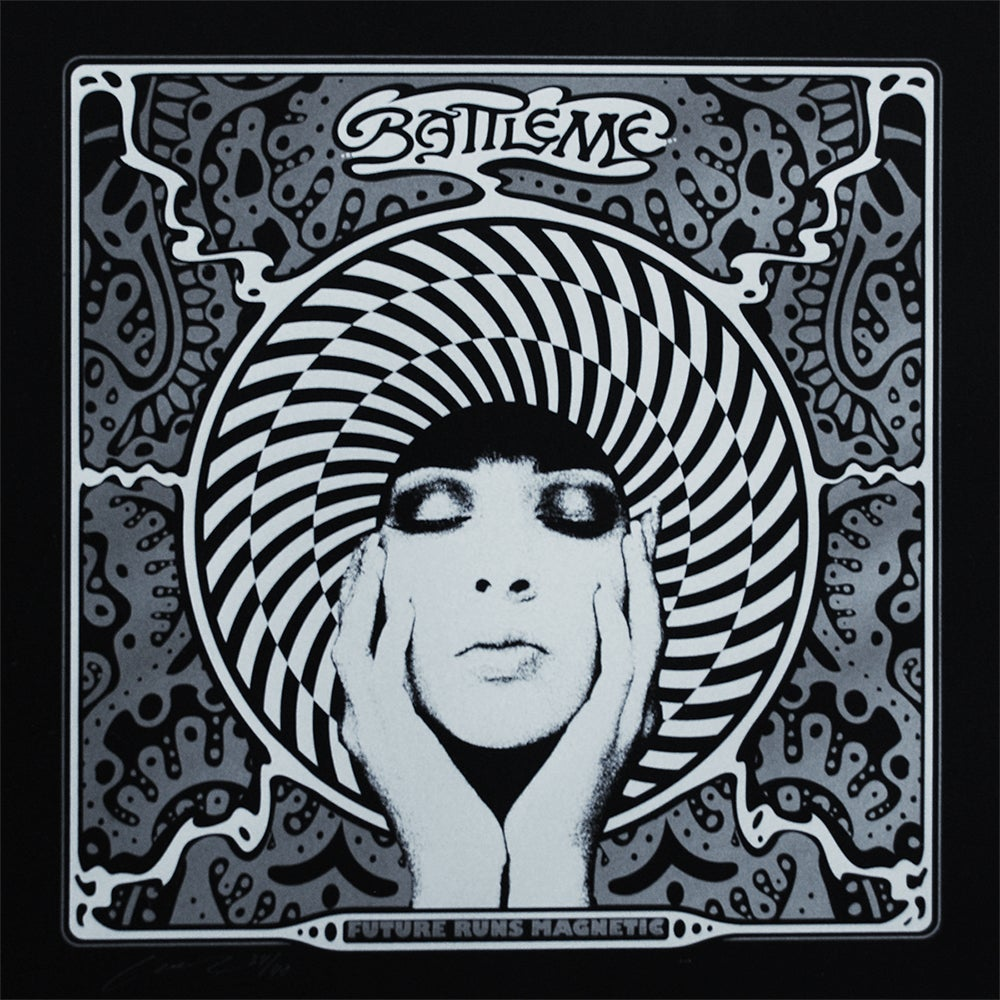 Image of Battleme - Future Runs Magnetic - Album Art Print