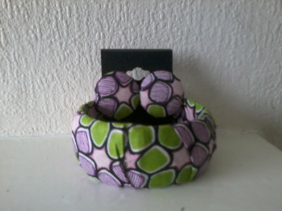 Image of Purple/Green Matching Set