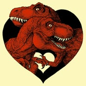 Image of Valentine's Day Card 2014 - Love Rexes