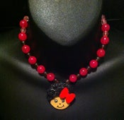 Image of Cute and Curly Afro Necklace