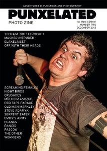 Image of PUNXELATED – Punk Photo Zine #2 by Marc Gärtner