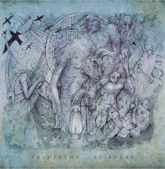 Image of Telepathy - 12 Areas (Vinyl - includes a digital copy of the album)