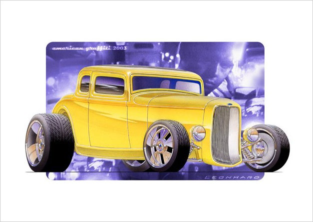Image of 32 Ford Hot Rod Coupe PRINT