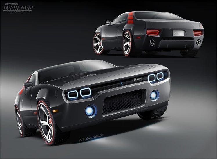 Image of Road Runner Concept ART PRINT - Big Size