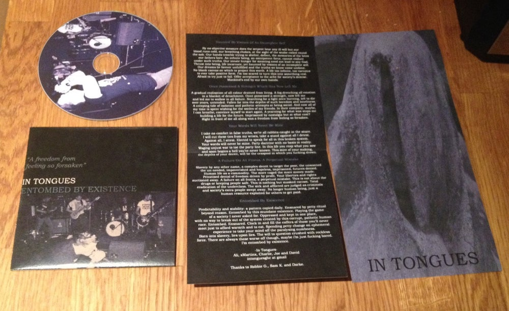 Image of In Tongues - Entombed By Existence EP