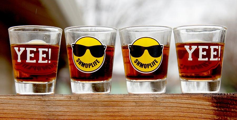 Image of SHMOPLIFE SHOT GLASS SET