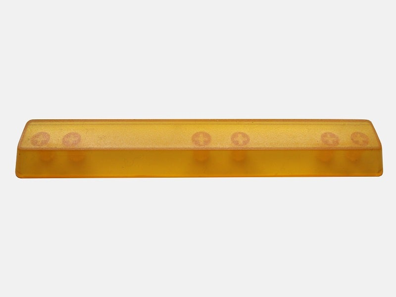 Image of (6.25x)Yellow Translucent Spacebar