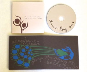 Image of ELEPHANT MICAH ~ PLAYS THE SONGS OF BIBLE BIRDS ~ cd (TIME-LAG 047)