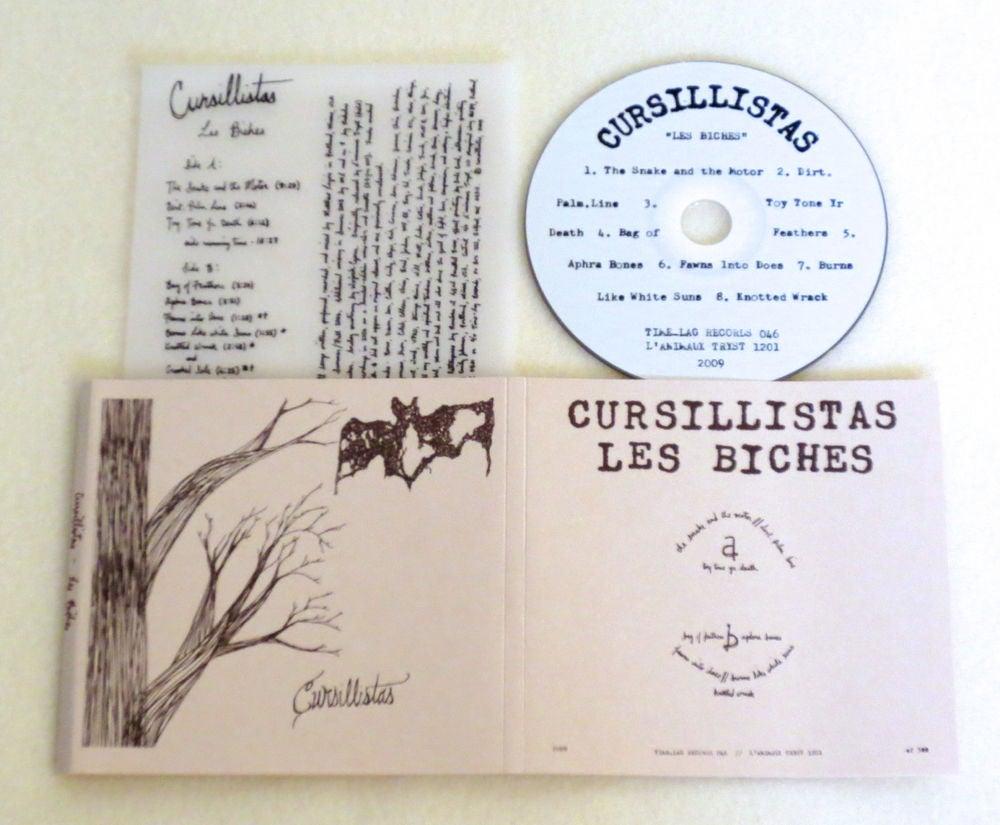 Image of CURSILLISTAS ~ LES BICHES ~ cd (TIME-LAG 046)