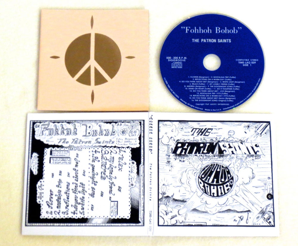 Image of THE PATRON SAINTS ~ FOHHOH BOHOB ~ cd (TIME-LAG 039)