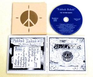 Image of THE PATRON SAINTS ~ FOHHOH BOHOB ~ cd (TIME-LAG 039)