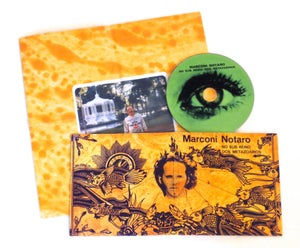 Image of MARCONI NOTARO ~ NO SUB REINO DOS METAZO ARIOS ~ cd (TIME-LAG 032)