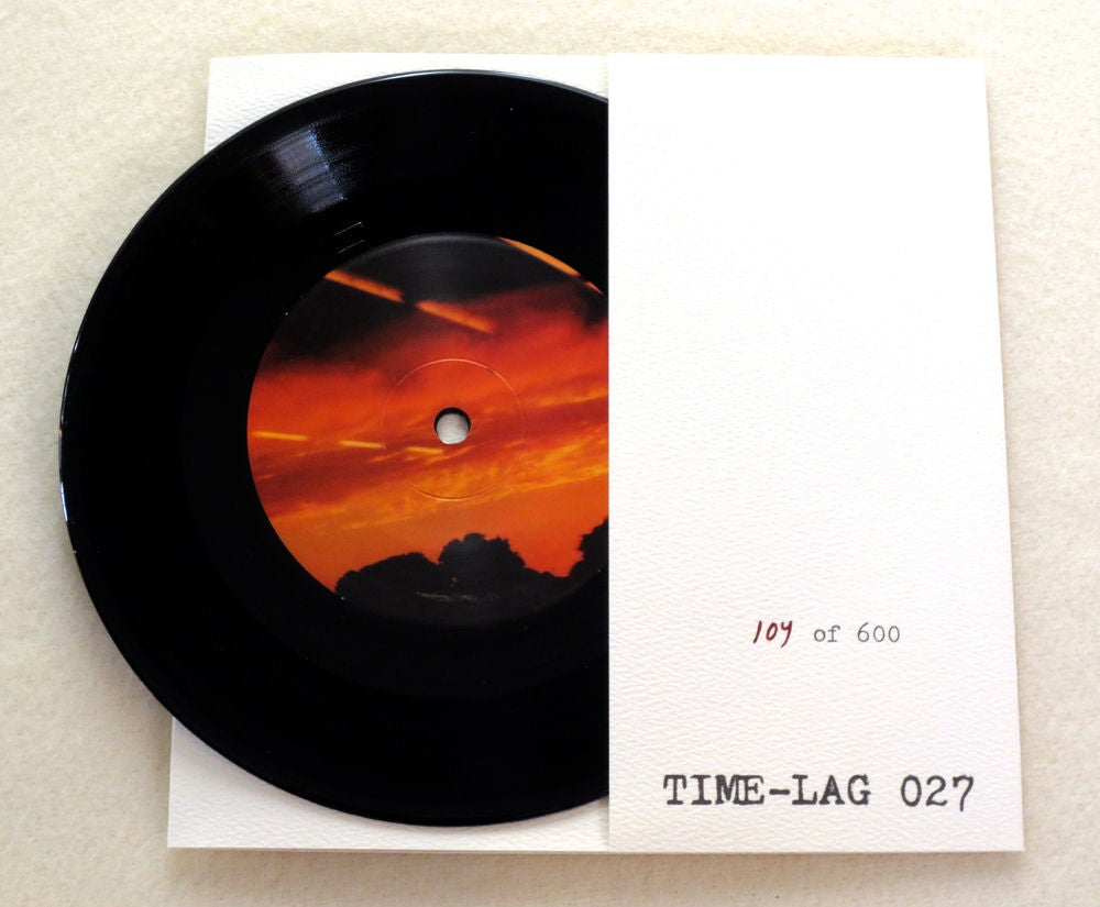 Image of KUUPUU ~ ILLUSIA ~ 7inch ep (TIME-LAG 027)