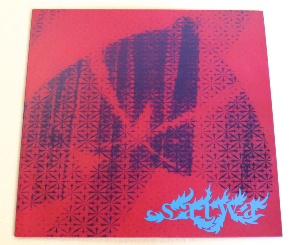 Image of SATWA ~ SATWA ~ lp (TIME-LAG 019)