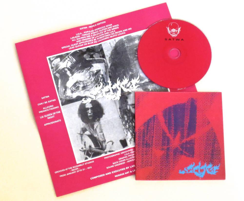 Image of SATWA ~ SATWA ~ cd (TIME-LAG 019)