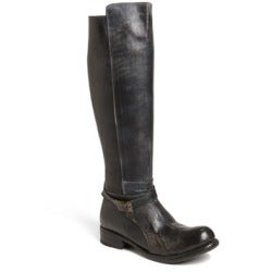 Image of Bed Stu - Bristol Knee High Boot - Black Rustic