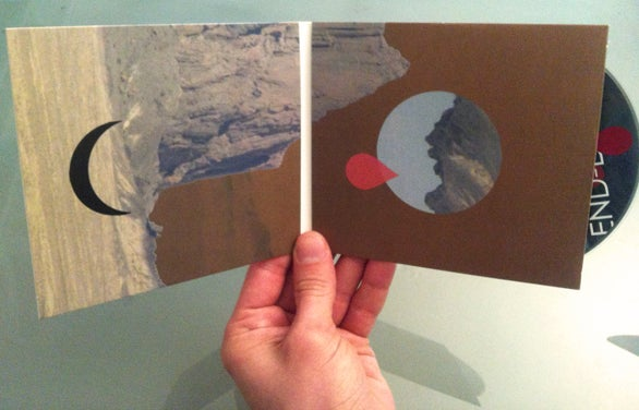 Image of Pillars and Tongues - End-dances (CD)