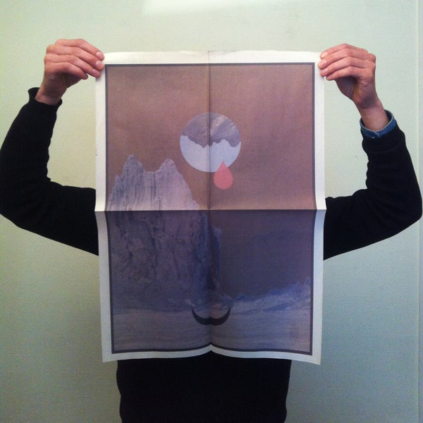 Image of Pillars and Tongues - End-dances (LP) + poster
