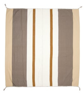 Image of IDA BLANKET white/tan/steel (2013)