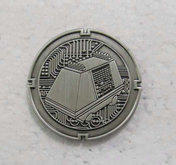 Image of Mouse Droid Coin 3rd in series