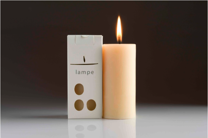 Image of Lampe | Pure bess wax