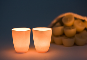 Image of Twinkerbelle | 12 x pure bees wax tealights