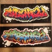 Image of Graffiti Name Board