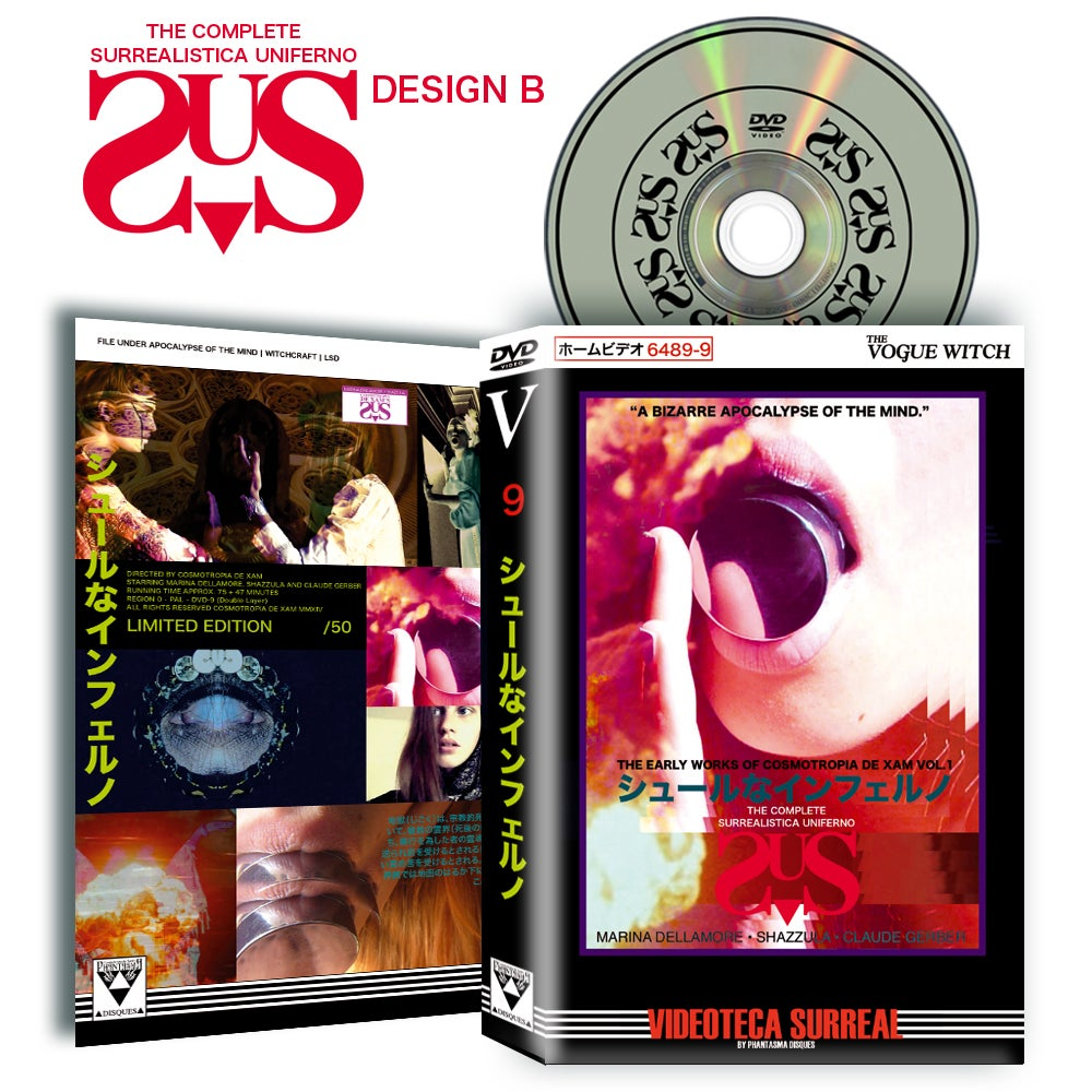 Image of HARDBOX DESIGN B The Complete Surrealistica Uniferno DVD