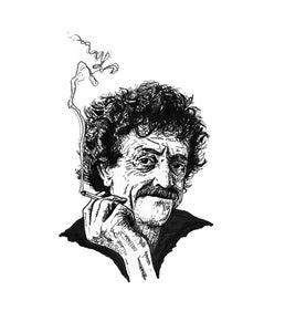 Image of 'Vonnegut' Print