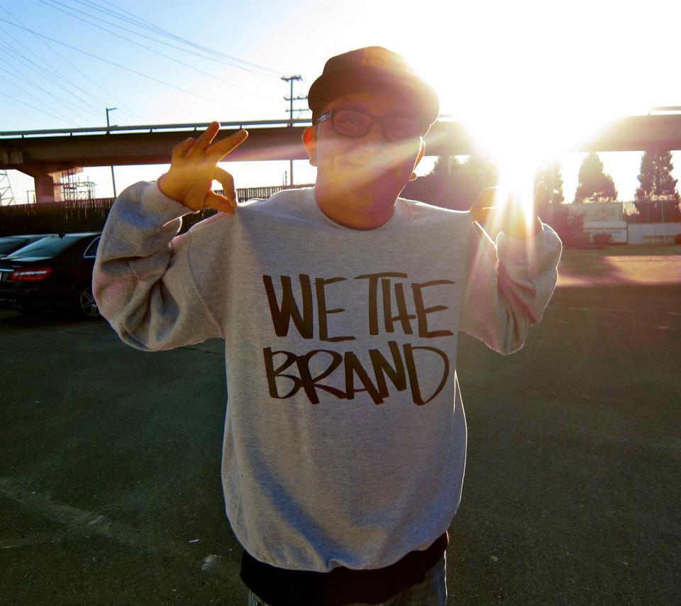 Image of We The Brand CREWNECK Sweatshirt (ASH GREY)
