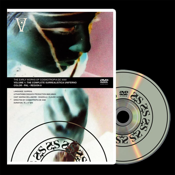 Image of PD-DVD-A003: The Early Works of Cosmotropia de Xam Vol.1 (AMARAY RETAIL EDITION)