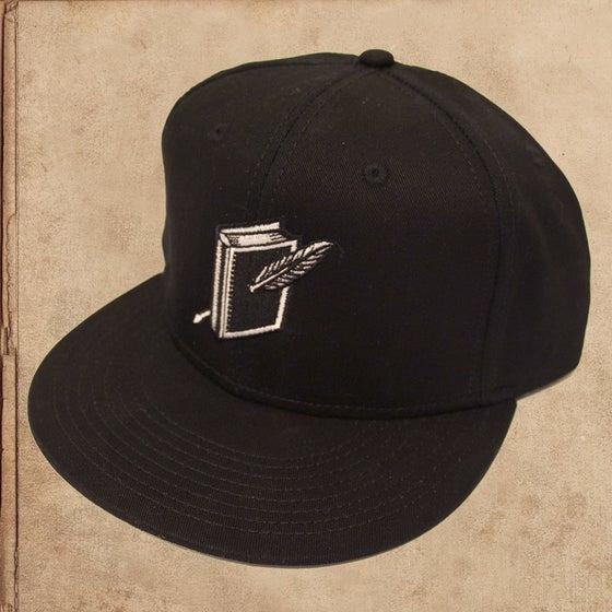 Image of Miles to go Logo Snapback - Black