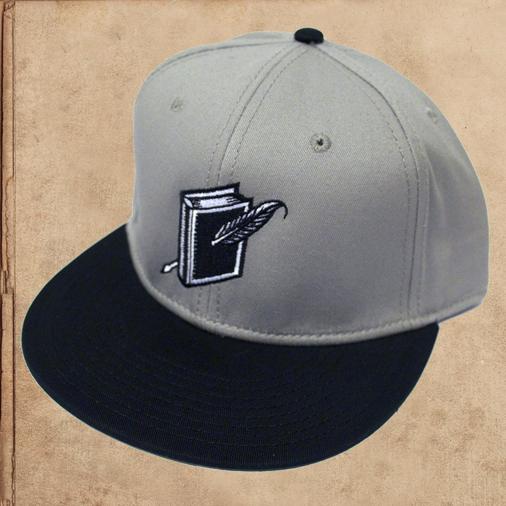 Image of Miles to go Logo Snapback -  Grey/Black- limited to 6