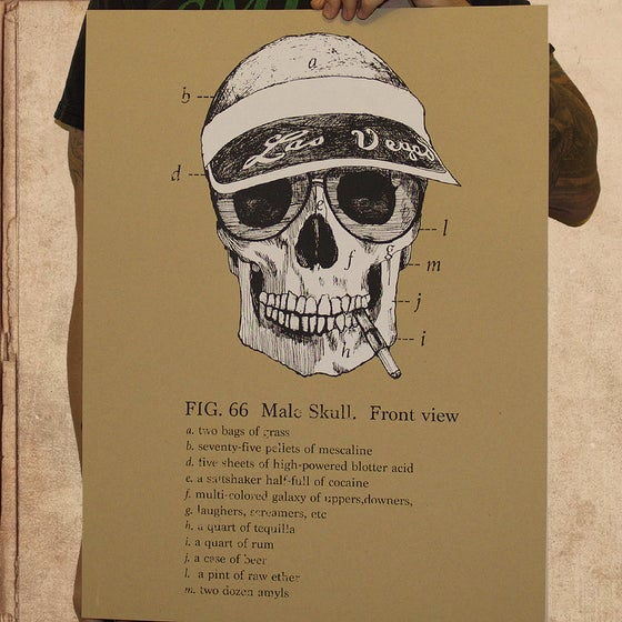 Image of Fear & Loathing - 18 x 24 poster - limited to 35