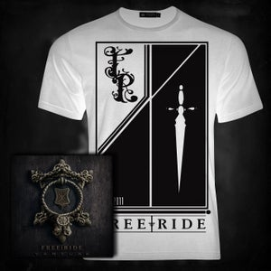 Image of Venture, Flag T | CD bundle