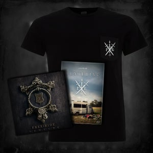 Image of Venture, Venturing, Daggers Pocket T | CD bundle