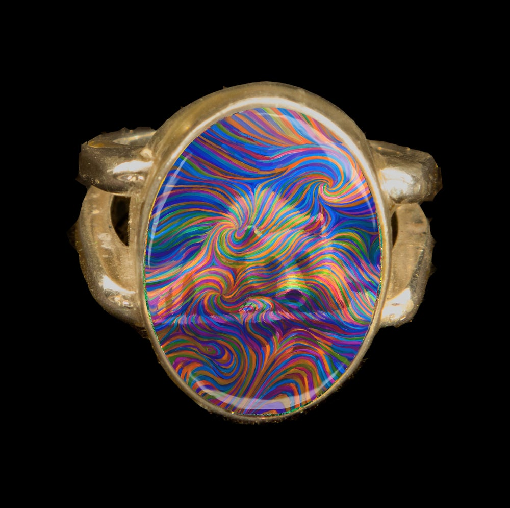 Image of Medicine Bear Energy Ring
